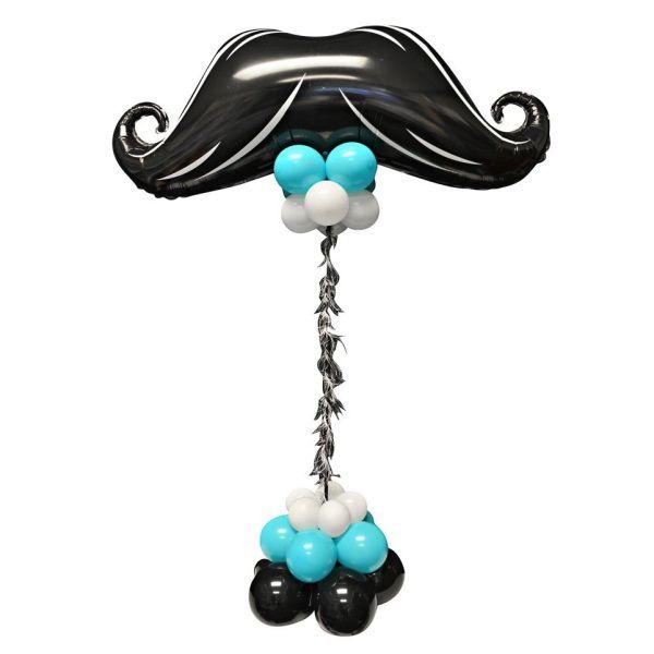 Столбик из шаров «Усы»