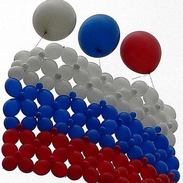 Гирлянды из воздушных шаров