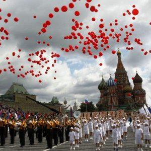 Воздушные шары на День города