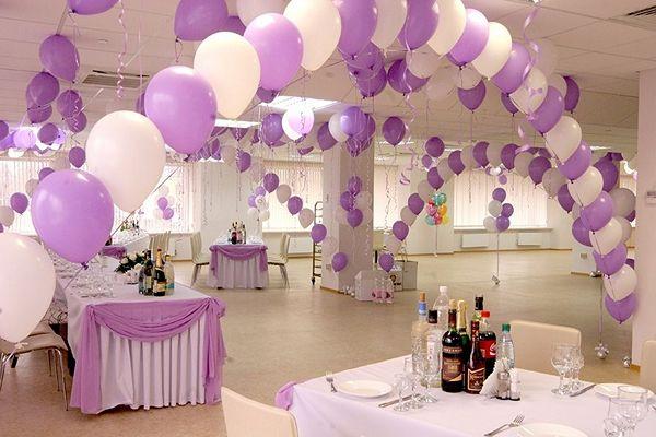 Воздушные шары на свадьбу. Компания onballoon.ru. Арки из шаров на свадьбу