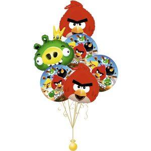 Воздушные шары Angry Birds