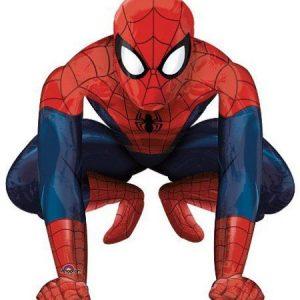 Воздушные шары с человеком пауком