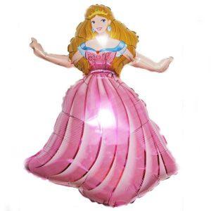 Воздушные шары с принцессами