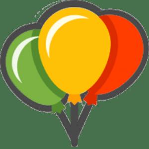 Воздушные шары на крестины