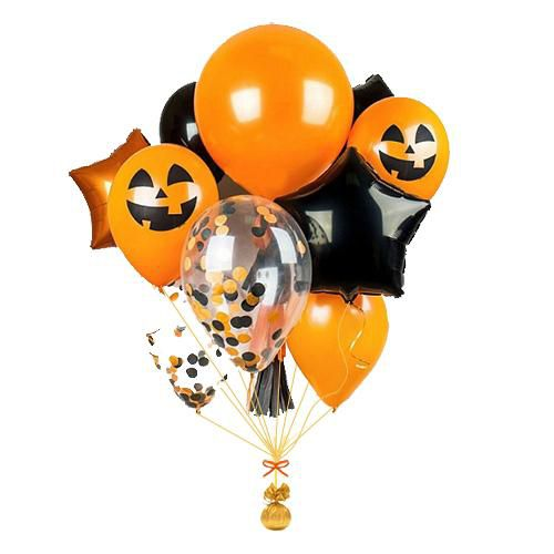 воздушные шары на Хеллоуин http://onballoon.ru