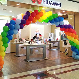 Воздушные шары на открытие магазина