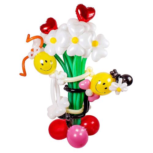 Букет из шаров на свадьбу. http://onballoon.ru