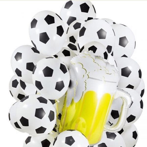 Воздушные шары на чемпионат мира, футбол. Воздушные шары для мужчины. http://onballoon.ru