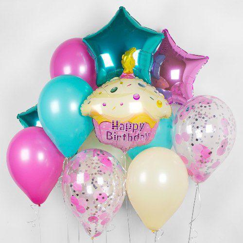 Букет шаров на день рождения.http://onballoon.ru