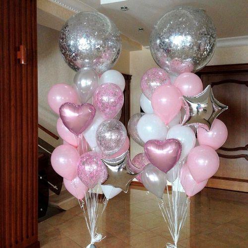 фонтаны из шаров на свадьбу www.onballoon.ru