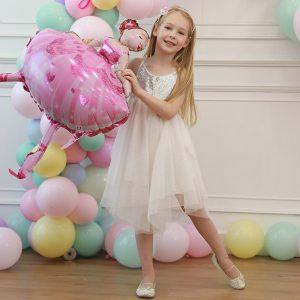 Фигуры из шаров для девочки