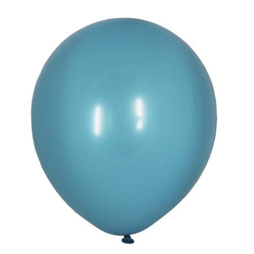 Воздушный шарик бирюзовый декоратор