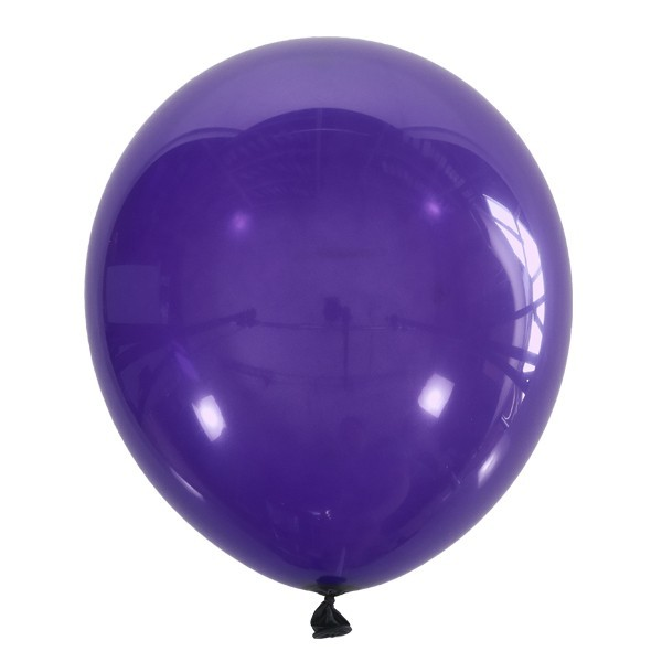 Воздушный шарик темно-фиолетовый декоратор