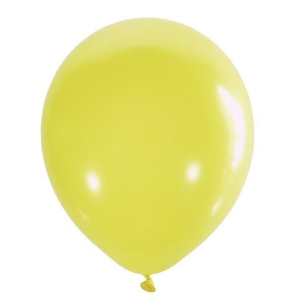 Воздушный шарик декоратор желтый