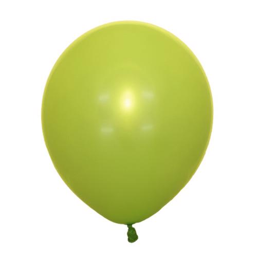 Воздушный шарик зеленый киви декоратор