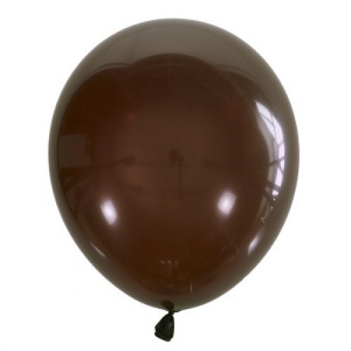 Воздушный шарик коричневый декоратор