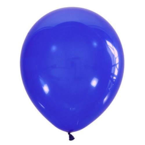 Воздушный шарик королевский синий декоратор