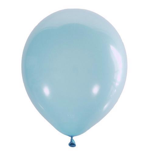 Воздушный шарик светло-голубой декоратор