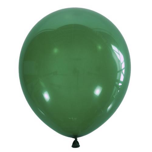 Воздушный шарик изумрудный декоратор