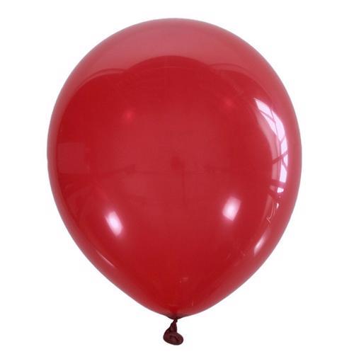 Воздушный шарик вишневый декоратор