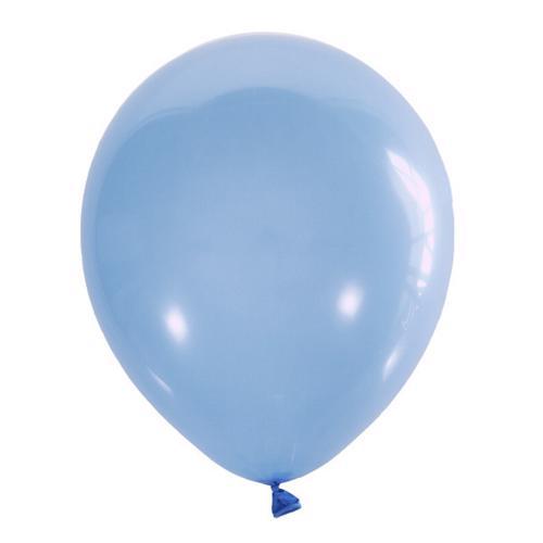 Воздушный шарик голубой пастель
