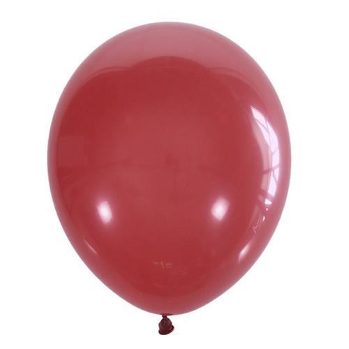 Воздушный шарик красный пастель