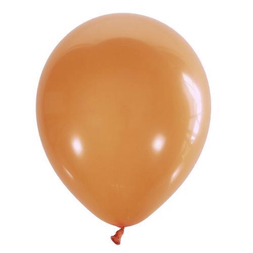 Воздушный шарик оранжевый пастель