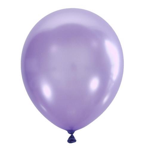 Воздушный шарик фиолетовый перламутр