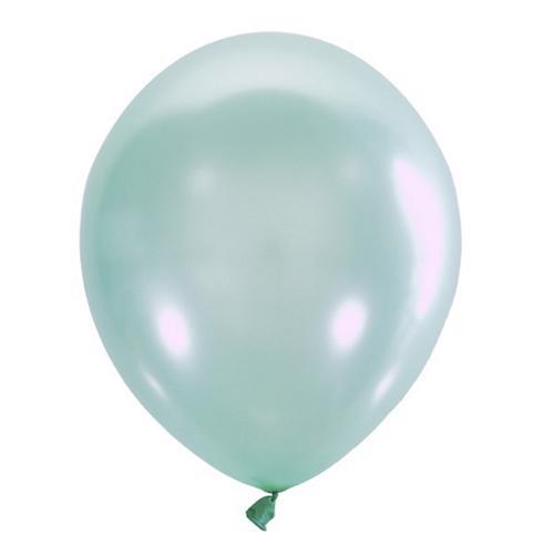 Воздушный шарик зеленый перламутр