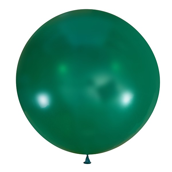 Большой олимпийский изумрудный шарик 90 см.