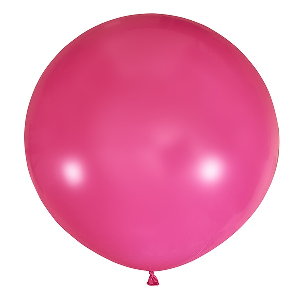 Большой олимпийский фуксия шарик 90 см.