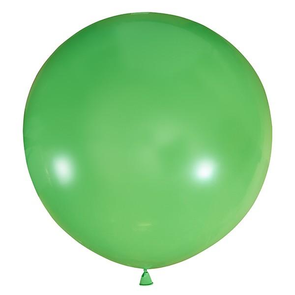 Большой олимпийский зеленый шарик 90 см.
