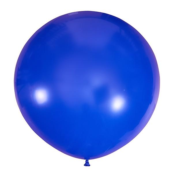 Большой олимпийский темно-синий шарик 90 см.