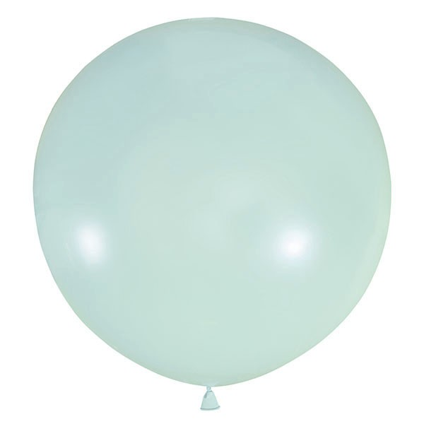 Большой олимпийский светлый голубой шарик 90 см.
