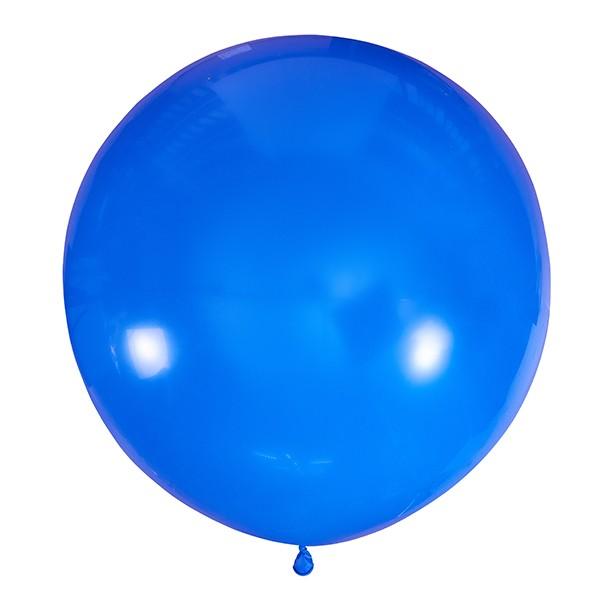 Большой олимпийский синий шарик 90 см.