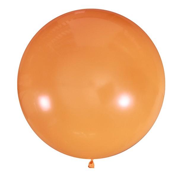 Большой олимпийский оранжевый шарик 90 см.
