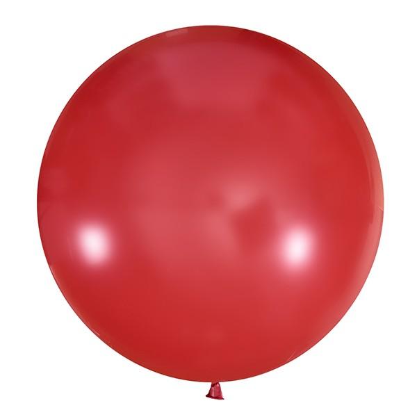 Большой олимпийский красный шарик 90 см.