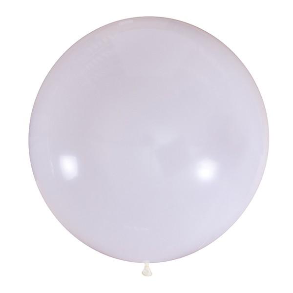 Большой олимпийский белый шарик 90 см.